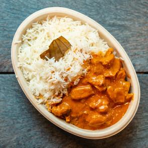 Butter Chicken Rice bowl