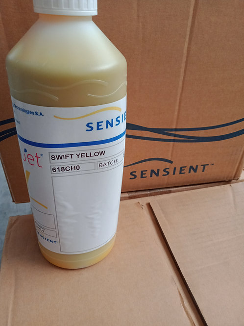Sensient Swift Yellow Dye Sub ink