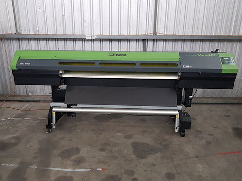 Roland LEJ-640 UV Flat Bed and Roll to Roll