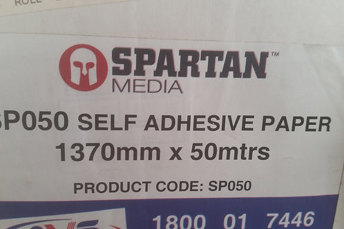 Spartan 1370mm self adhesive Paperfor wide format printing