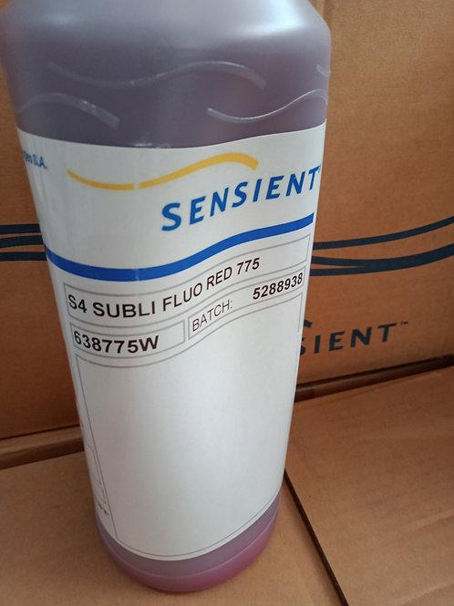 Sensient S4 Flouro Red Subli ink