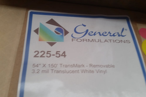 Concept 225 Translucent White Wide Format Print Media