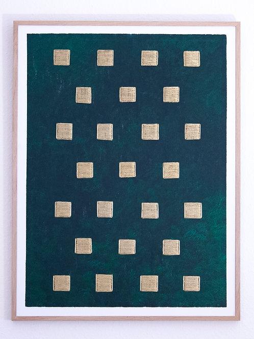 Stéphanie Poppe, Architectures Arborescentes, 83 x 63 cm, 2019