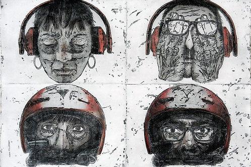 ALBERTO BALLETTI, Hiccup, 70 x 100 cm, 2019