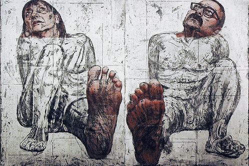 ALBERTO BALLETTI, Over Confidence, 70 x 100 cm, 2017