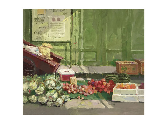 JIAO TANG, Fruit and Vegetable Stalls