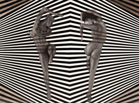 Jessica Feldman, Reinvent Yourself, oil on canvas, 80 x 80 cm, 2018