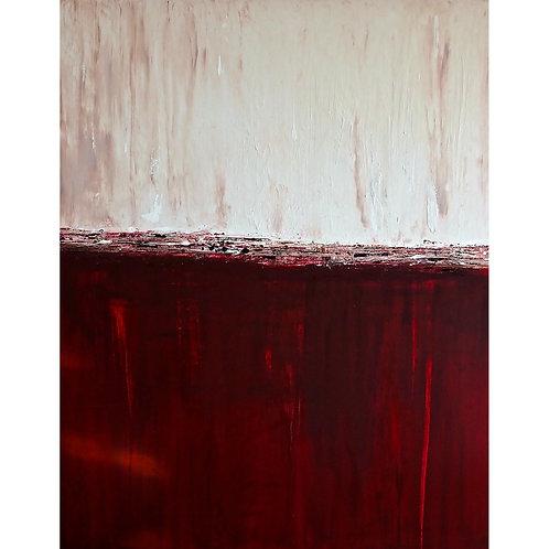 Neelum Nand, Primodial, 152 x 102 cm, Mixed Media on Canvas, 2019