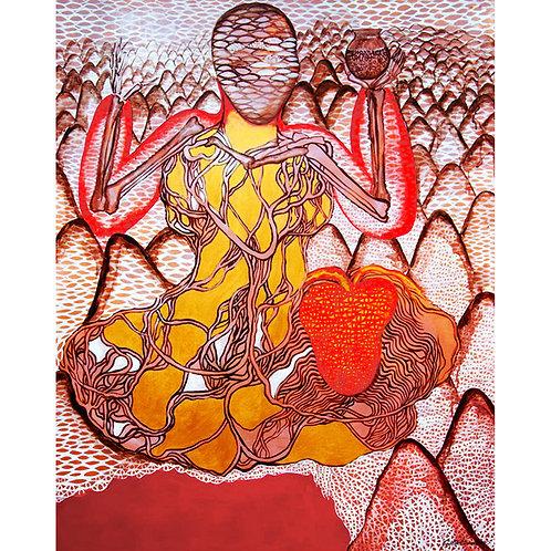 9. Sajitha R. Shankhar, Arlterbodies, 150 x 120 cm, 2012