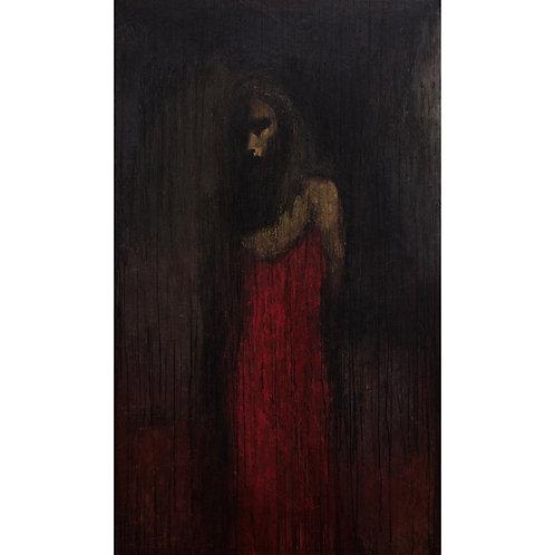Katerina Tsitsela, Yota, 80 X 150 cm, oil on canvas, 2016