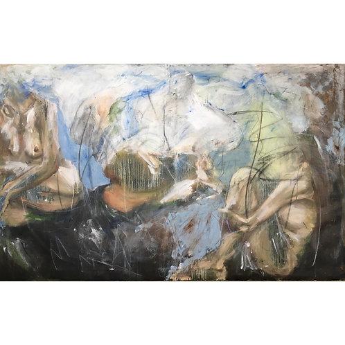 M. Miao, Nature, 176 cm x 115 cm, 2019