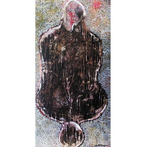 14. Sajitha R. Shankhar, Archetypes, 180 x 90 cm, 2005