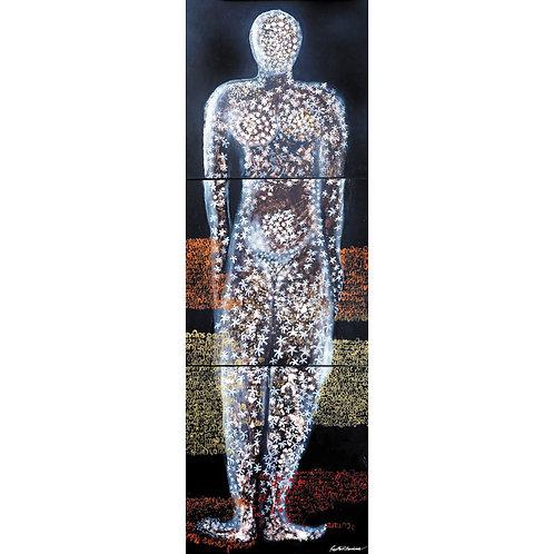 19. Sajitha R. Shankar, Archetypes, 270 x 90 cm, 2008