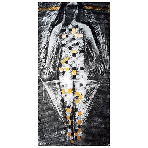 4. Sajitha R. Shankhar, Women Archetypes, 180 x 105 cm, 2007