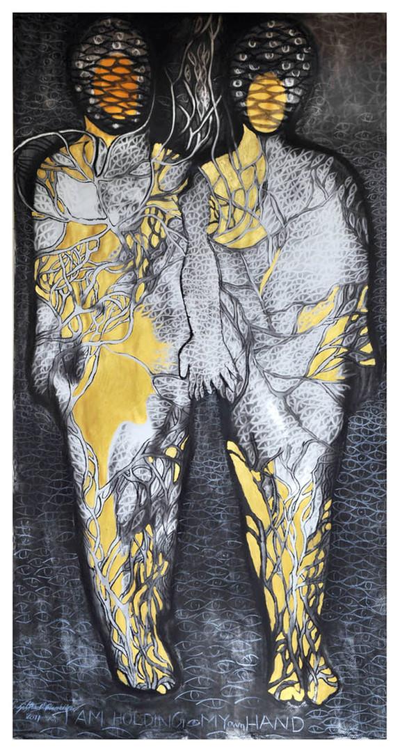 7. Sajitha R. Shankhar, Arlterbodies, 182 x 91 cm, 2010