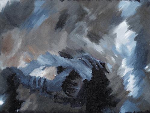 Tonya Vinogradova, Untitled 1, 100 X 150 cm, 2019