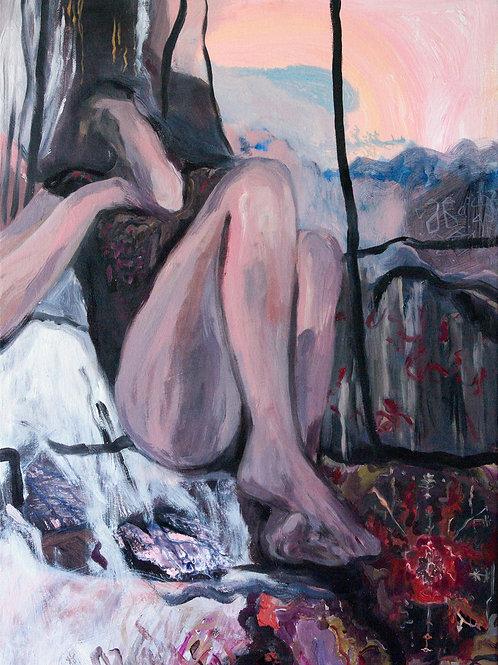 ZUZANA PETRÁKOVÁ, Before Sunrise, 49 x 69 cm