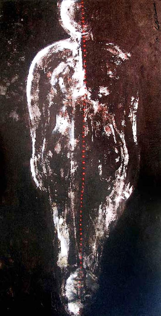 5. Sajitha R. Shankhar, Archetypes, 180 x 90 cm, 2005