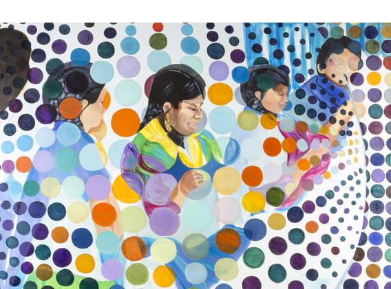 Jessica Feldman, HILVANADA, oil on canvas, 150 x 170 cm, 2018