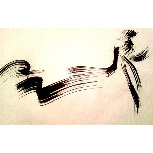 Monica Cilmi, MOVING FORWARD, 50 x 70 cm,  2019