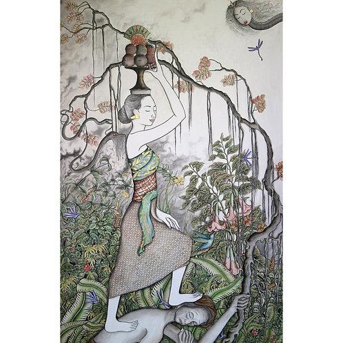 Satya Cipta, Emptiness, 92 x 141 cm, 2018