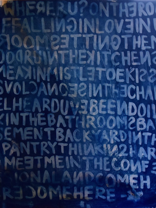 "ELAINE T. NGUYEN, COMEHERE, 48""x54"", 2020"