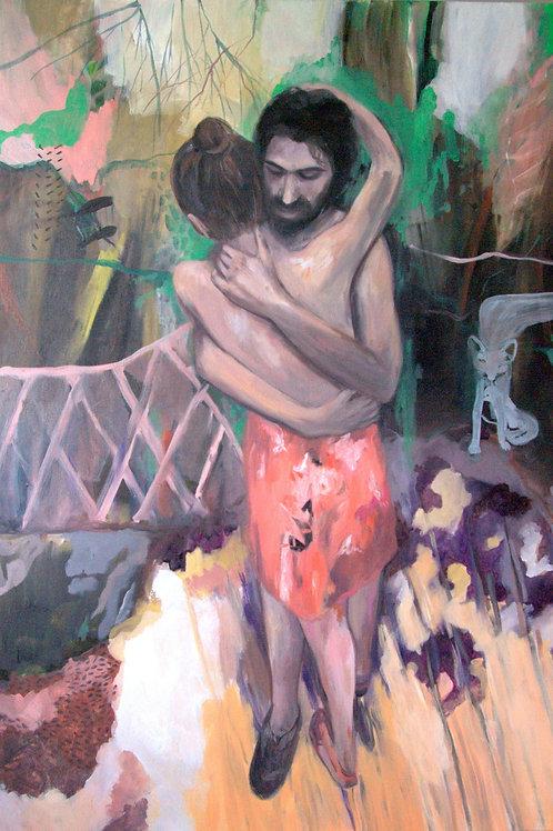 ZUZANA PETRÁKOVÁ, Garden of Eden, 90 x 130 cm