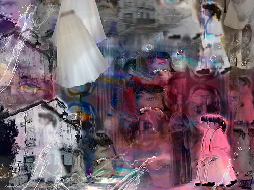 Cristina Ortiz, The Aimless, 80 x 60cm