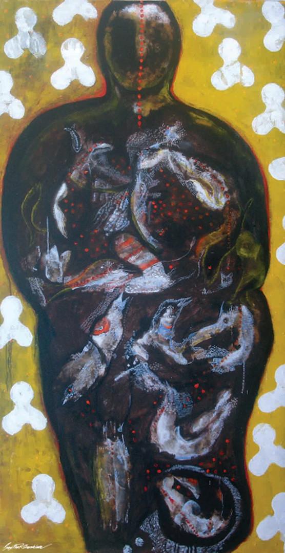 13. Sajitha R. Shankhar, Archetypes, 180 x 90 cm, 2006