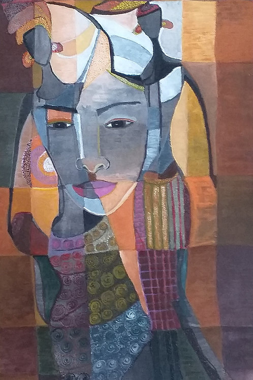 SURYANI,Follow My Feeling, 80 cm x 50 cm, 2019