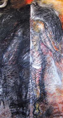 12. Sajitha R. Shankhar, Archetypes, 180 x 105 cm, 2003