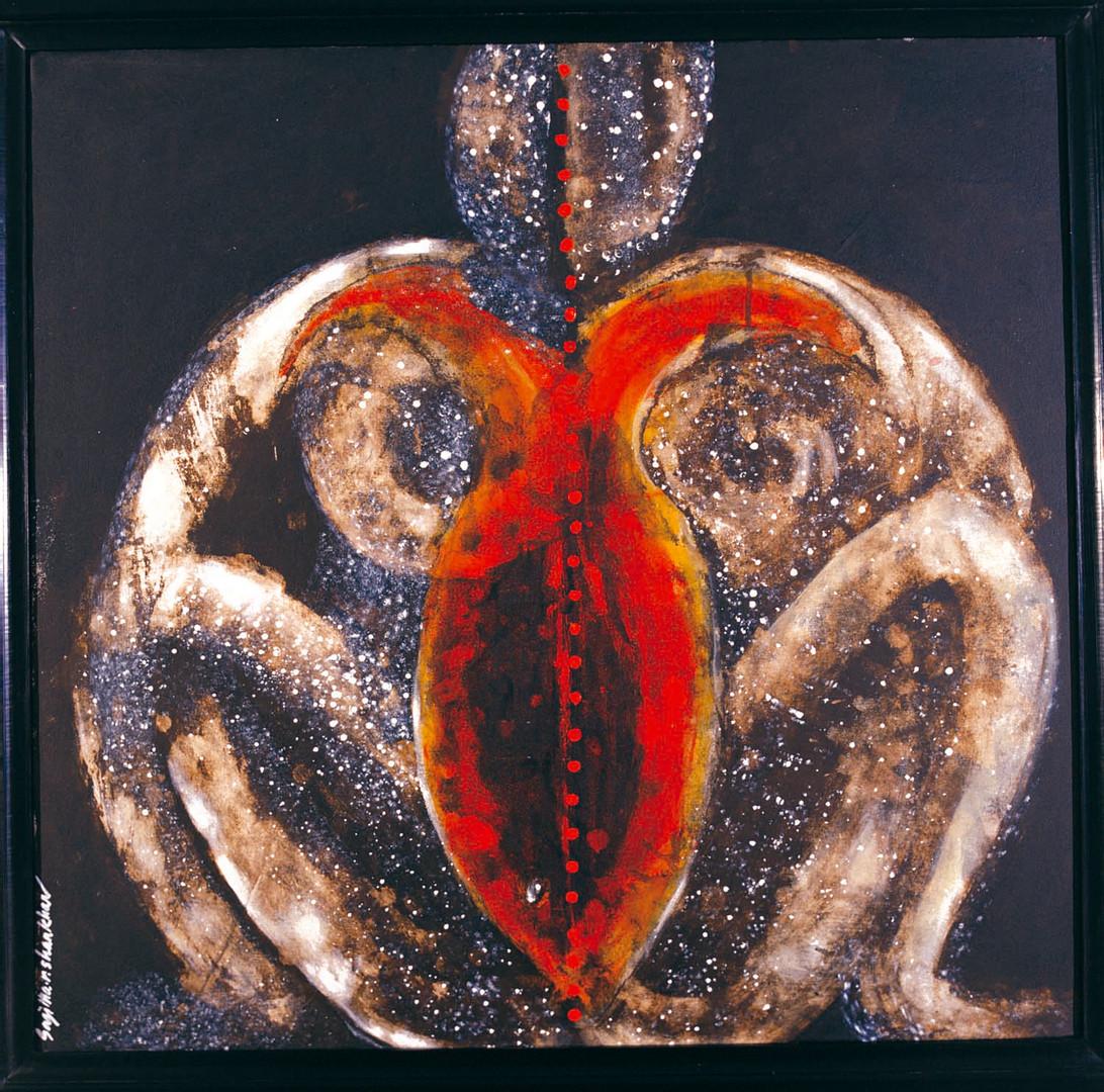 11. Sajitha R. Shankhar, Archetypes, 90 x 90 cm, 2006