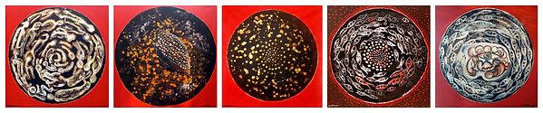 02-Archetypes Acrylic on canvas 2007. Si