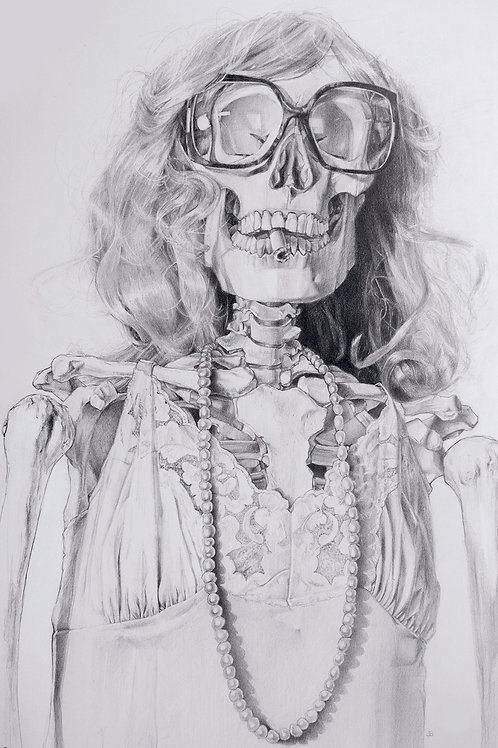 """JESSICA BURKE,I Was Famous Once, 24 x 18"""""""