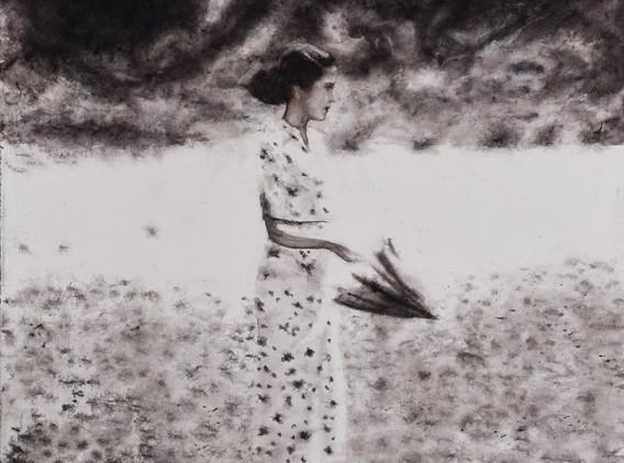 Sandra De Jaume, Eden, acrylic on canvas, 60 x 60 cm, 2015