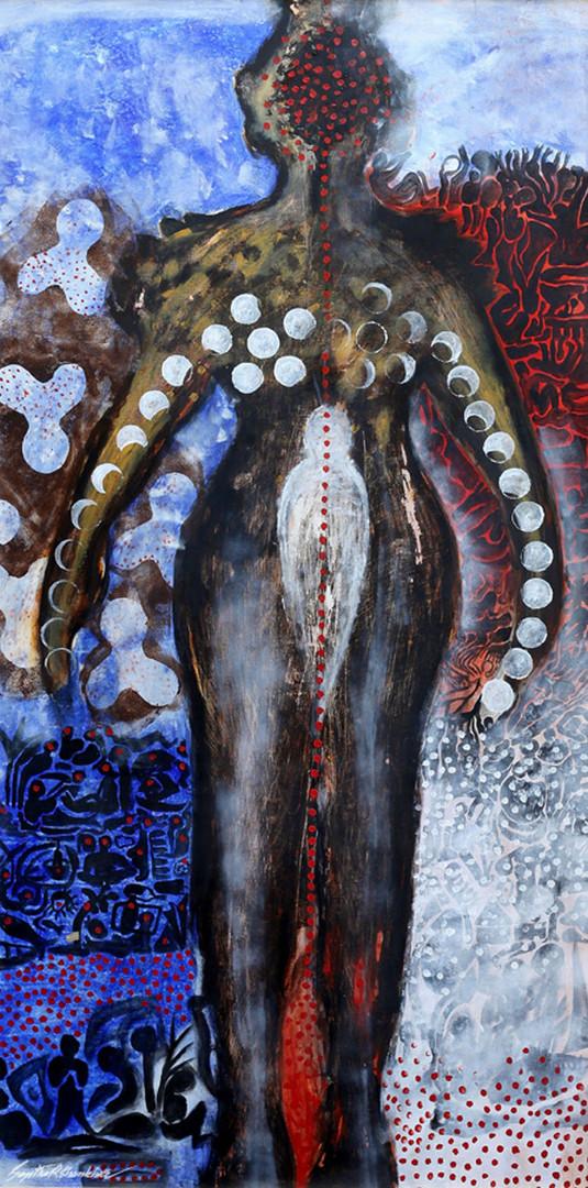 20. Sajitha R. Shankar, Archetypes, 180 x 90 cm, 2006