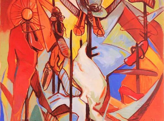 LIBENGE JEREMIE YONGO, The Scarecrows