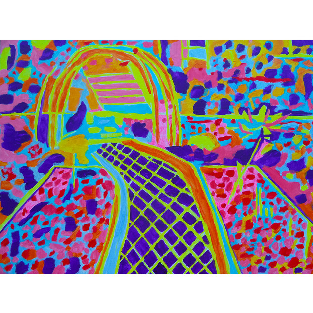"Tjaša Iris , ""Geometric Garden"""