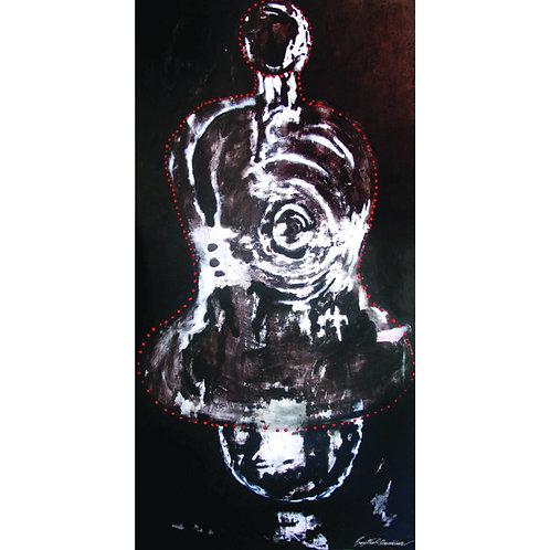 15. Sajitha R. Shankhar, Archetypes, 180 x 90 cm, 2005