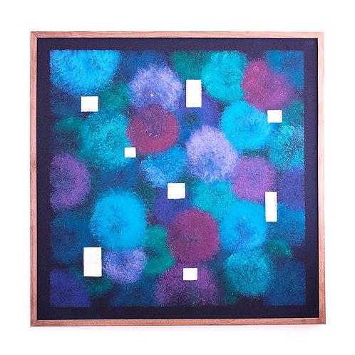 Stéphanie Poppe, Natures Artificielles 2, 103 x 103 cm, 2020