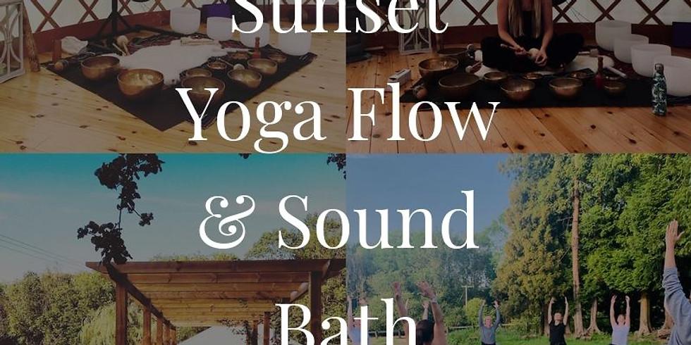 Sunset Yoga Flow & Sound Bath