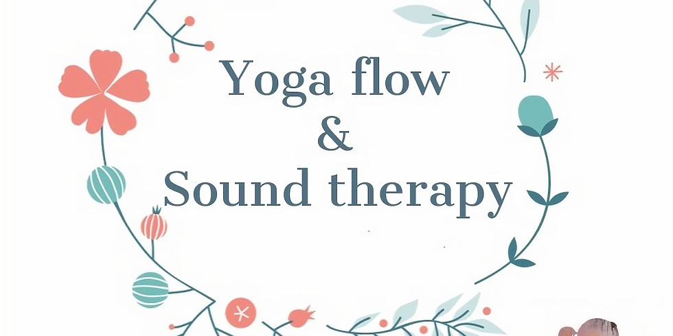 Yoga flow & Sound therapy with Derry & Camilla