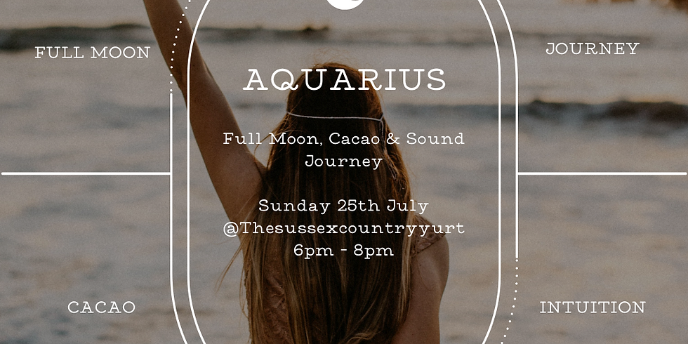 Full Moon Sound & Cacao Journey