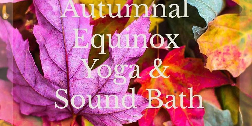 Autumnal Equinox Yoga & Sound Bath