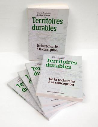 """Parution de l'ouvrage collectif """"Territoires durables, de la recherche à la conception&quot"""