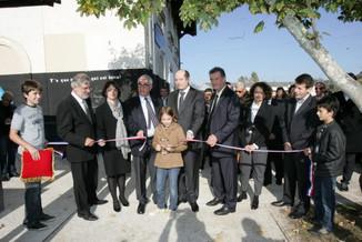 La Dépêche revient sur l'inauguration du parking de Grisolles