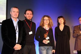 1er prix de la Belle Route pour la ville de Grisolles et l'agence