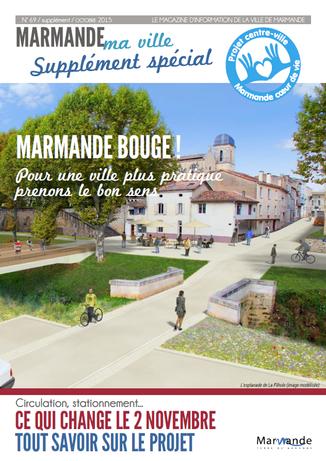 La Commune de Marmande présente le projet urbain à ses habitants