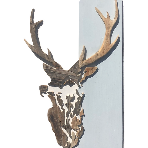Driftwood Stag - Stencil Style