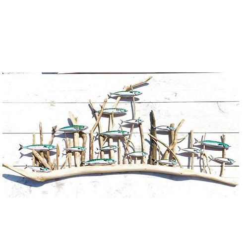 Driftwood Mackerel Shoal